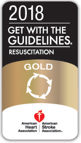Get With The Guidelines®-Resuscitation Gold Award badge
