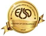 Gold level ELSO award logo badge