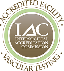 IAC Vascular Testing accreditation badge
