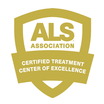 ALS Association Certified Treatment Center of Excellence