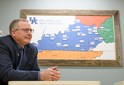 Dr. Tim Mullett aims to reduce Kentucky cancer burden through Affiliate, Research Networks