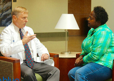 Dr. Philip Kern talks with Angelique Bell