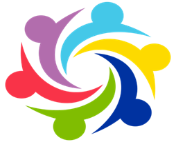 Employee engagement pinwheel logo