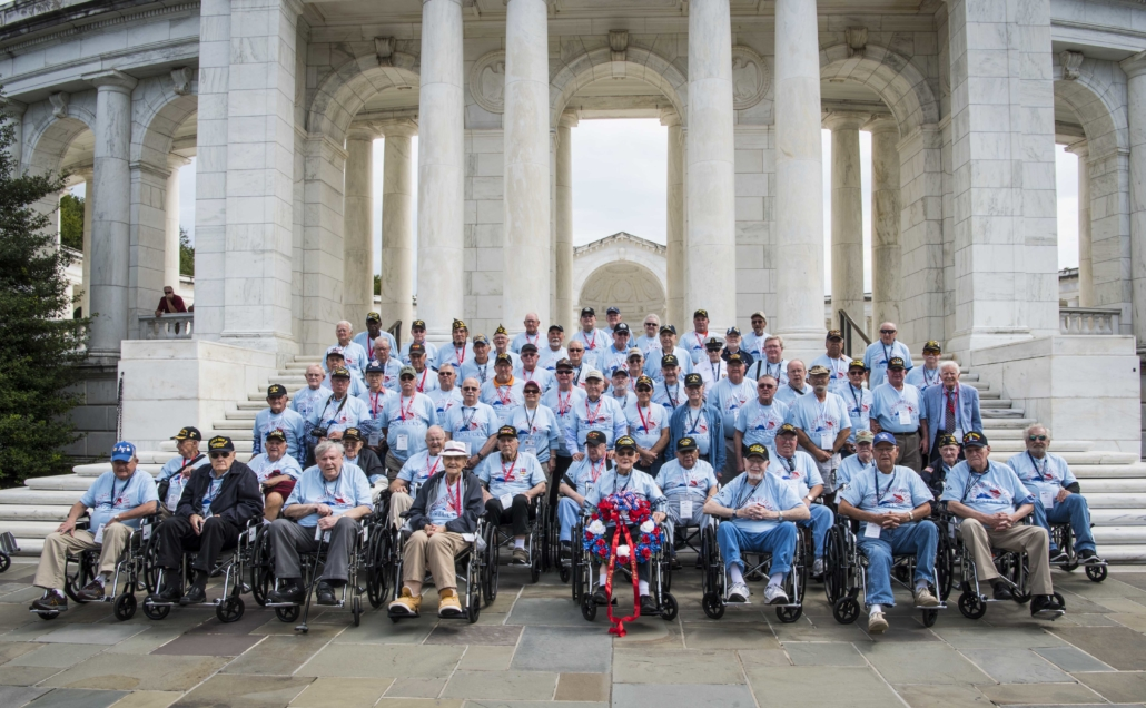 Honor Flight celebration