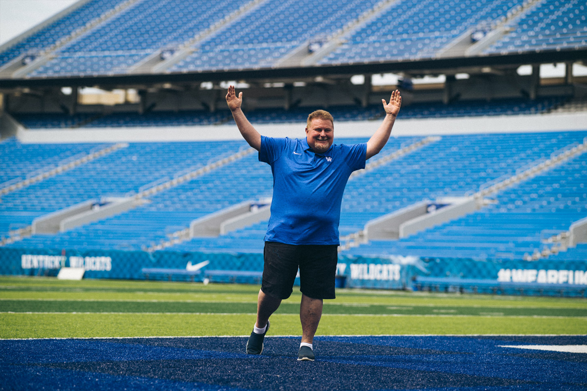Jimmy Rhoades at Kroger Field