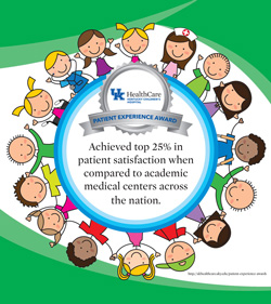 Kentucky Children's Hospital Top 25 Percent banner