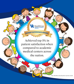 Kentucky Children's Hospital Top 5 Percent banner