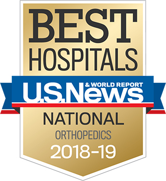 US News Best Hospital Badge Orthopaedics