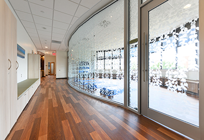 The cancer center has built four new spaces to serve the needs of its patients