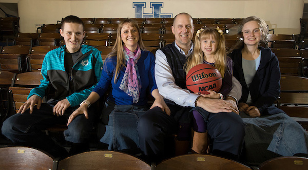 Former UK basketball player Todd Svoboda credits his wife and three kids for helping him beat his cancer diagnosis.